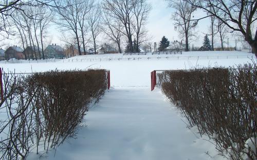 Játékos kijáró télen