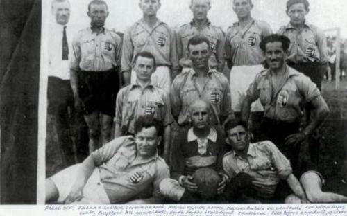 Az első sükösdi futball csapat 1931-ben