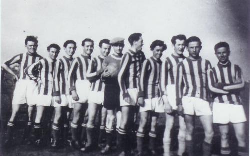 Sükösdi csapat 1952-ben