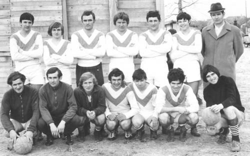 Felnőtt csapat 1971/1972. évi Bajai járási I. helyezett