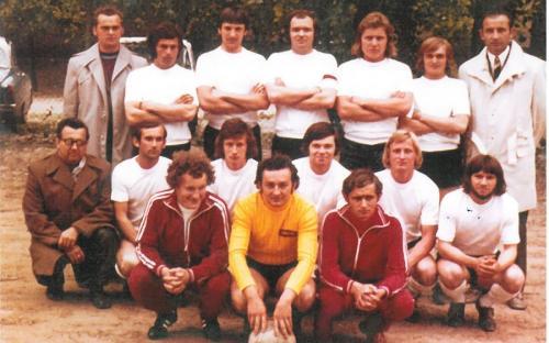 Felnőtt csapat 1972/1973. évi megyei II. osztály III. helyezett