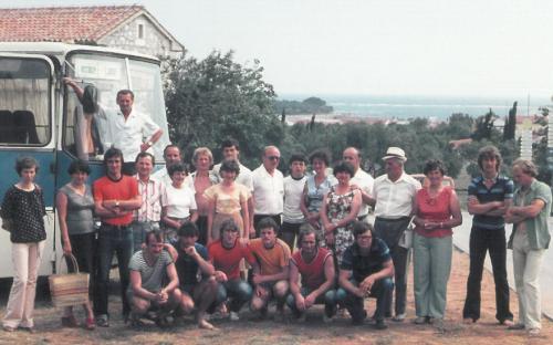 Sükösdi csapat az Adrián 1980 nyara
