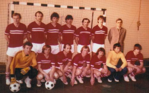 Felnőtt csapat Megyei I. osztály 1980-1981