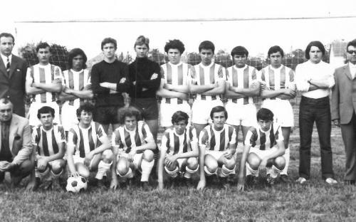 Ifjúsági csapat 1971/1972. évi Bajai járási I. helyezett