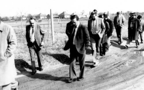 Pálya helyszíni bejárás 1977. március