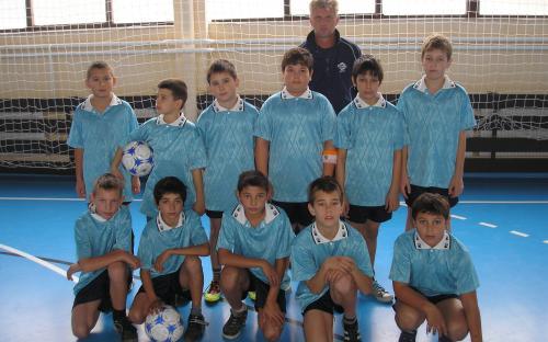 Foci-suli U11 korosztályú csapata 2011/12