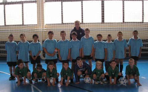 Foci-suli U7-U9-U11 korosztályú csapata 2011/12